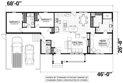 Genesis Homes - Model 4 standard