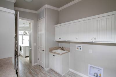 Silvercrest Craftsman, California - utility room