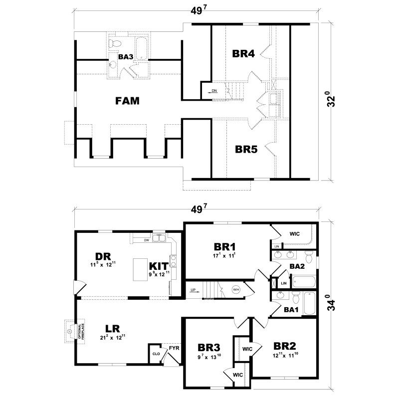 nson - Excel Homes | Excel Homes Br Story Home Floor Plans on
