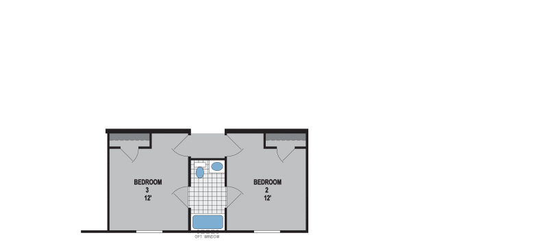 Optional Third Bathroom A