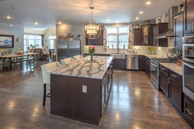 The Lakeport kitchen