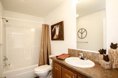 Enterprise FH64 bathroom