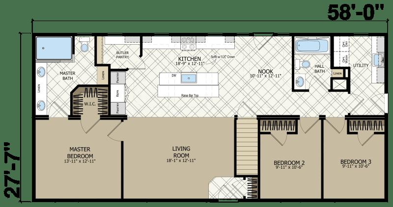 Edge LE141 - New Era Building Systems