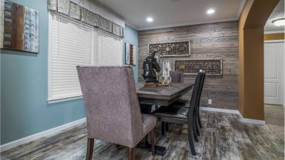 Champion Homes, Dresden, Tennessee, Dining Room