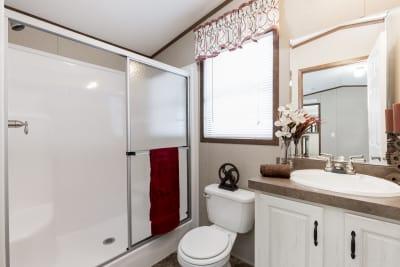 The Wentz 492B master bathroom