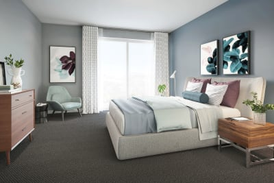 The Corner master bedroom