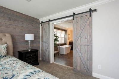 master bathroom door