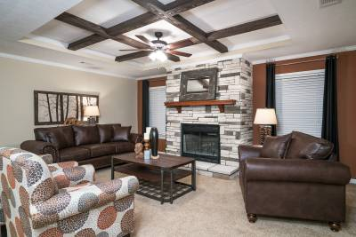 Champion Homes, Dresden TN, Living Rooms