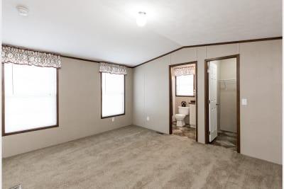 The Wentz 492B master bedroom