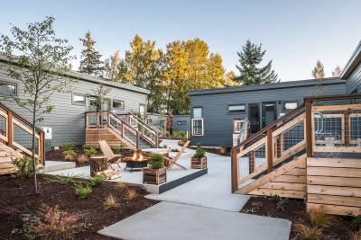 Champion Homes, Weiser, Idaho, Lodges on Vashon, modular construction, hospitality, resort
