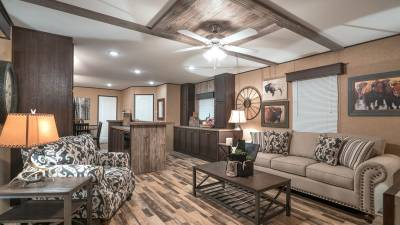 Single section manufactured home, Champion Homes Texas