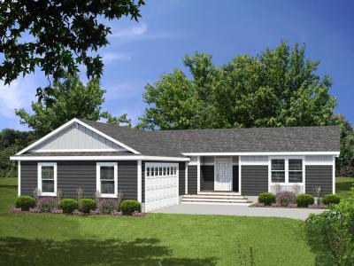 Genesis Homes - Model 2 Opt 2B Exterior