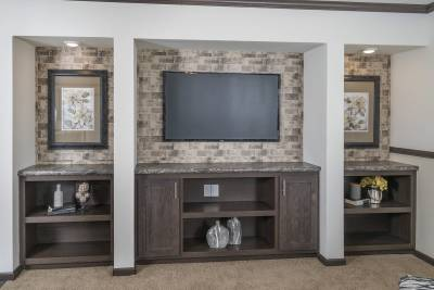 CDC 2860 living room entertainment center