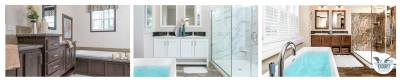 Champion Homes, Customer Design Collection, Bathrooms
