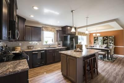 New Era Beckley kitchen and kitchen island