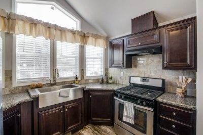 Park Model RV 518 kitchen