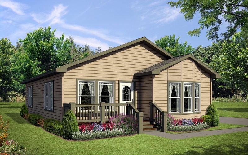 York Built Y40 Elevation with porch