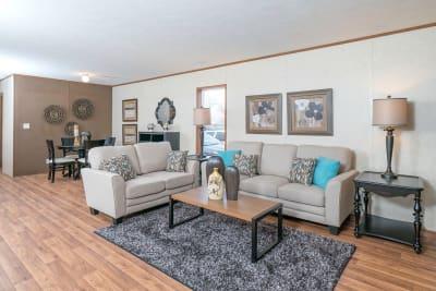 Advantage L37625 by Redman Homes living room