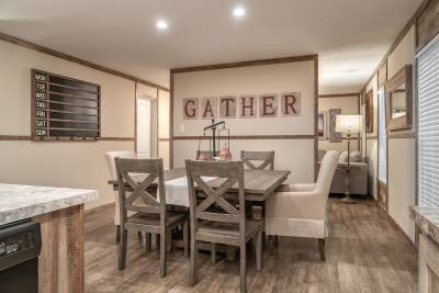 Champion Homes - Benton, Kentucky - dining area