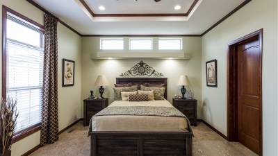 Highland Manufacturing, manufactured homes, master bedroom
