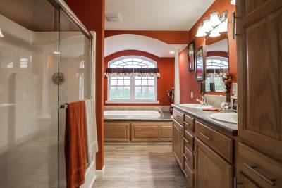 North American Housing, Bathroom