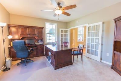 Excel Homes, Crestwood 3A, master bedroom