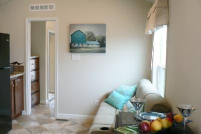 Park Model 511 living room