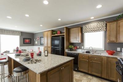 Highland Estates 2854-3L kitchen