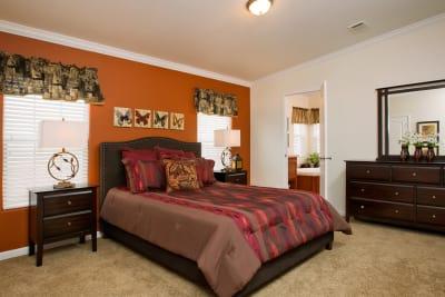 Ashton by Titan Factory Direct master bedroom