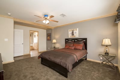 Brazos XL master bedroom