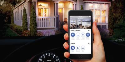 Redman Homes, Lindsay, California, programmable lights
