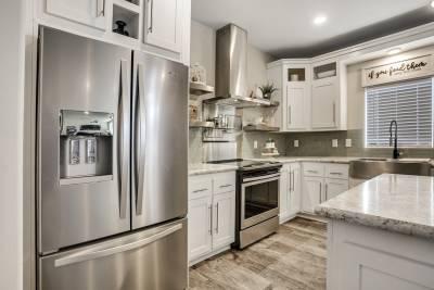 Genesis Homes - Model 11 refrigerator