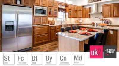 Redman Homes, York, Nebraska, Ultimate Kitchen Two