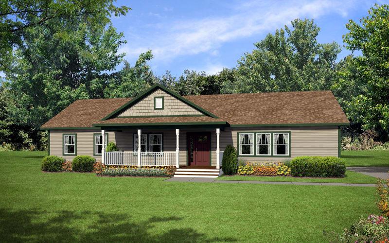 The Loyola Modular Ranch Elevation