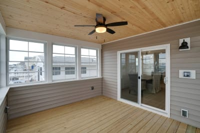 Excel Homes, Boardwalk, screened deck