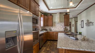 Highland Manufacturing, manufactured homes, kitchen