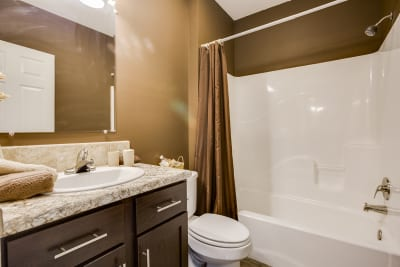 New Era Charleston guest bathroom