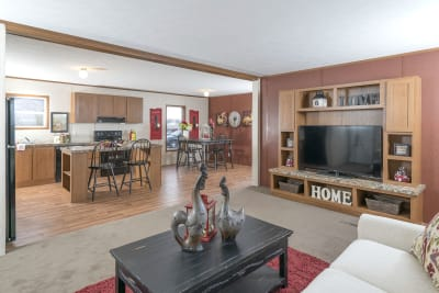 Advantage A35226 living room and kitchen