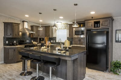 The Newton 702B kitchen