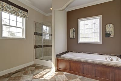 Harnett master bath