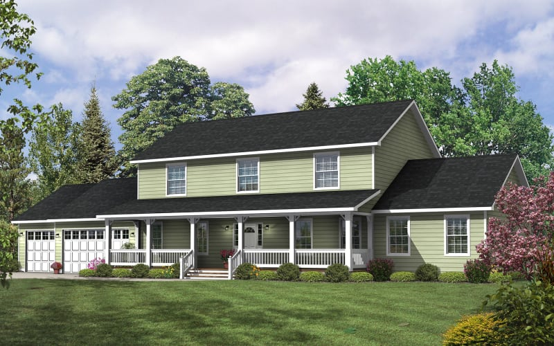 The Ashville - Two Story Modular Home