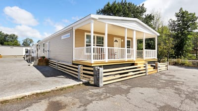 Manufactured home plans available through Superior Housing