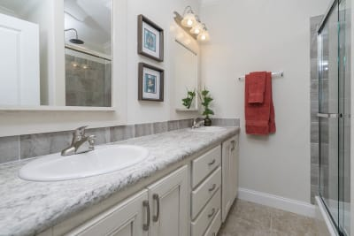 Multi-family, Tarpon Harbour, master bath