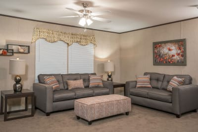 RM2852A by Redman Homes living room
