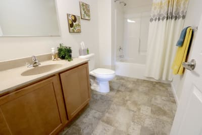 Excel Homes, The Charles, bathroom