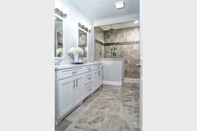 The Brookly master bathroom