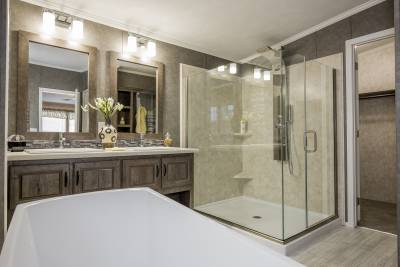 Titan Homes, New York, spa master bath
