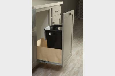 Silvercrest Kingsbrook, California - built-in trash drawer