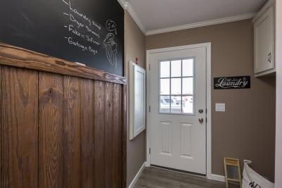 The Brady 760 utility room