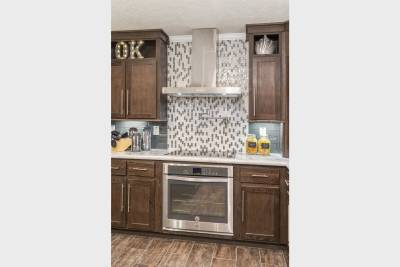 Ridgecrest Ultimate Kitchen Two stove and range hood